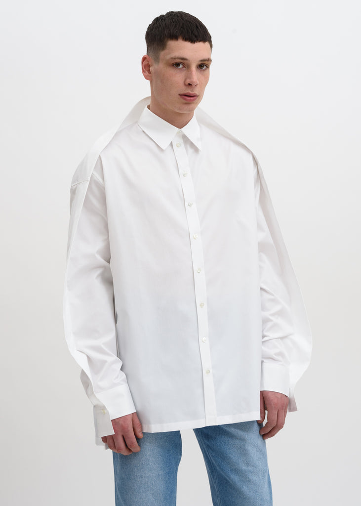 White Oversized Shirt