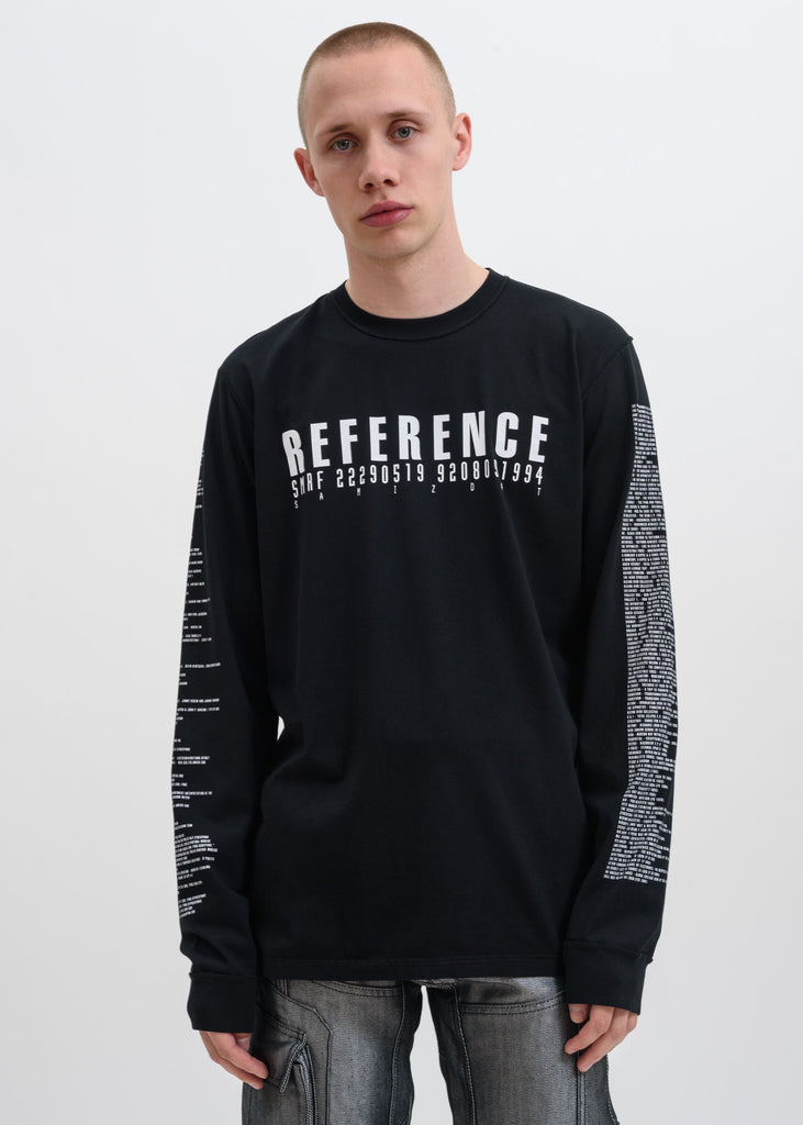 Black 5.0 Reference Long Sleeve
