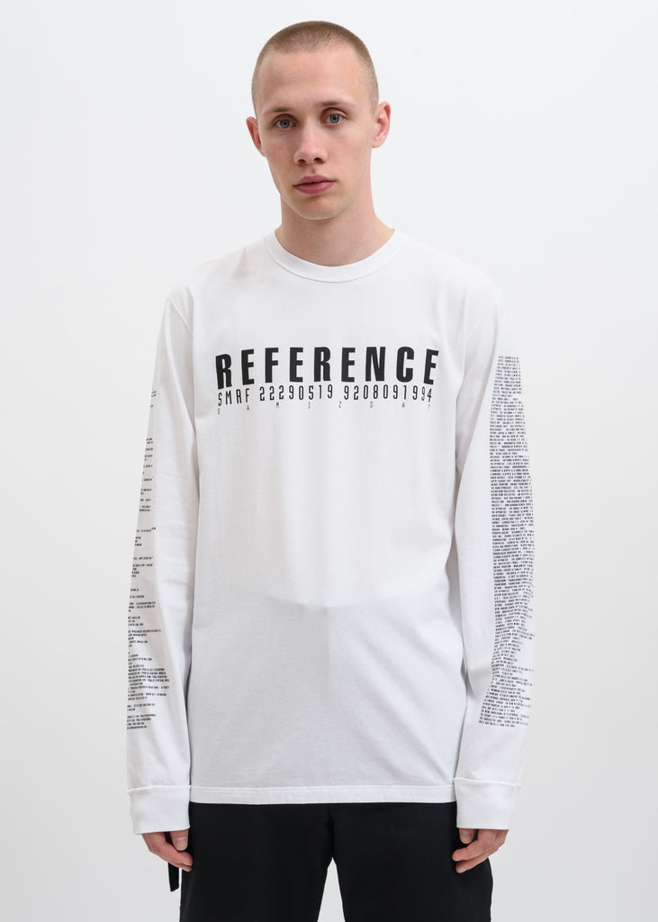 White 5.0 Reference Long Sleeve