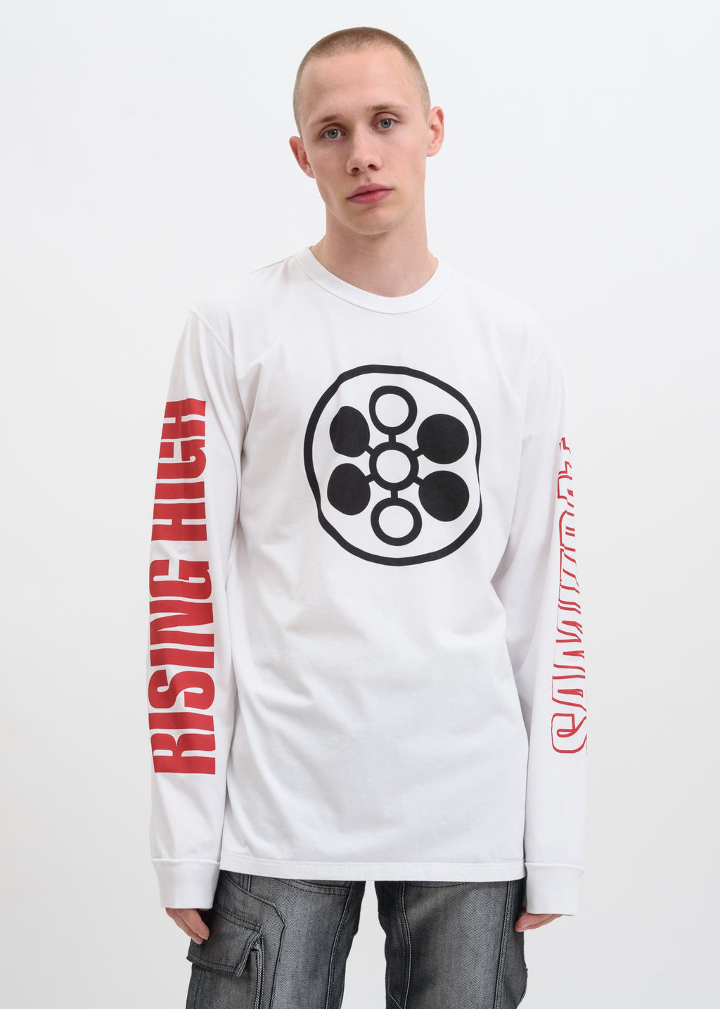 White Rising High Long Sleeve