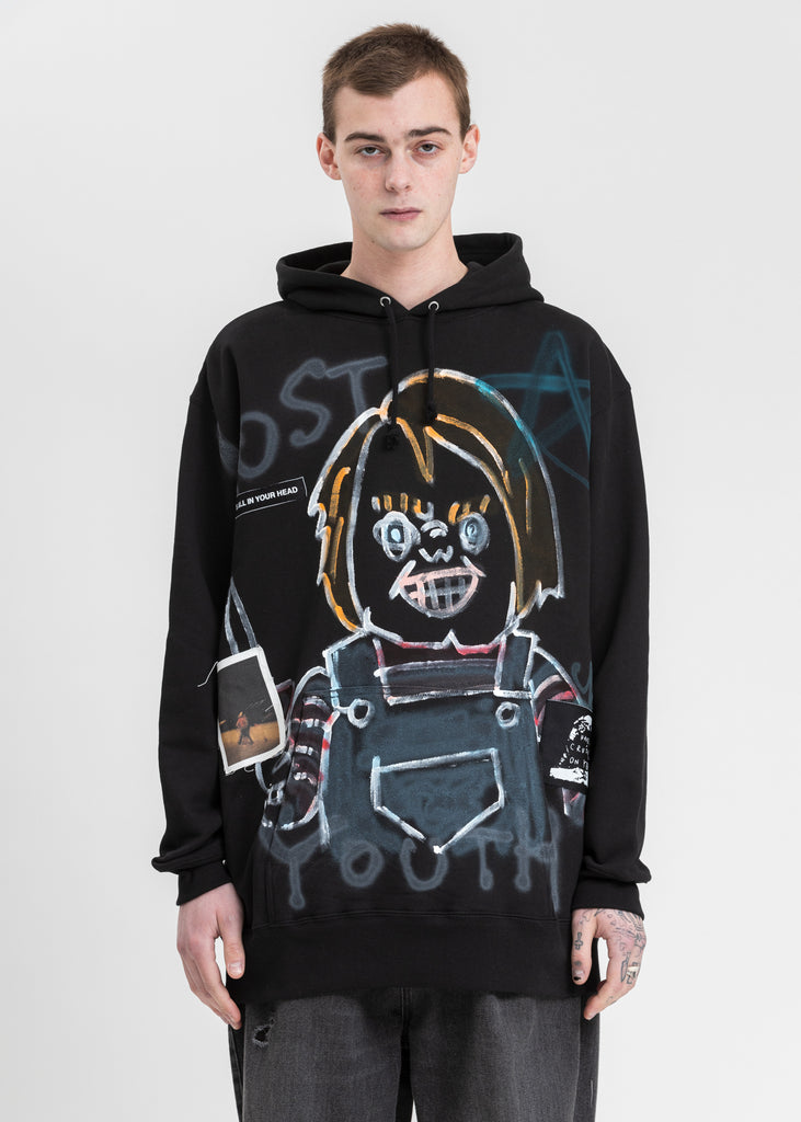 Black Paint Hoodie (Child's Play)