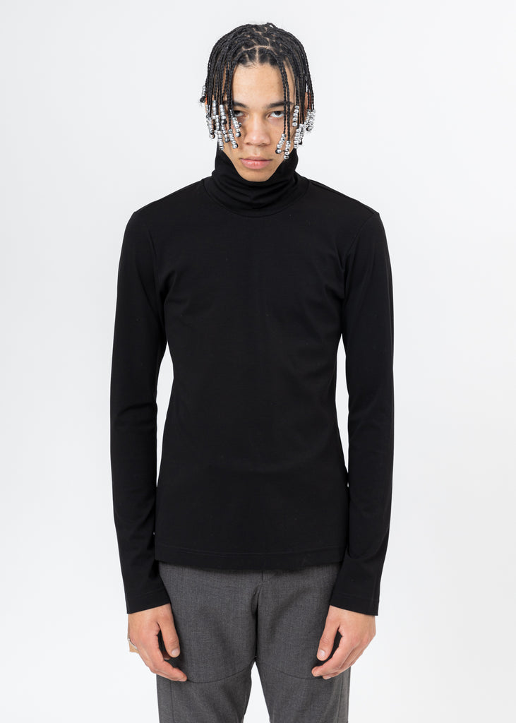 Black Turtleneck Long Sleeve