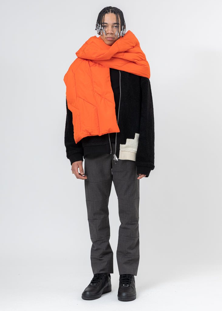 Orange Down Scarf