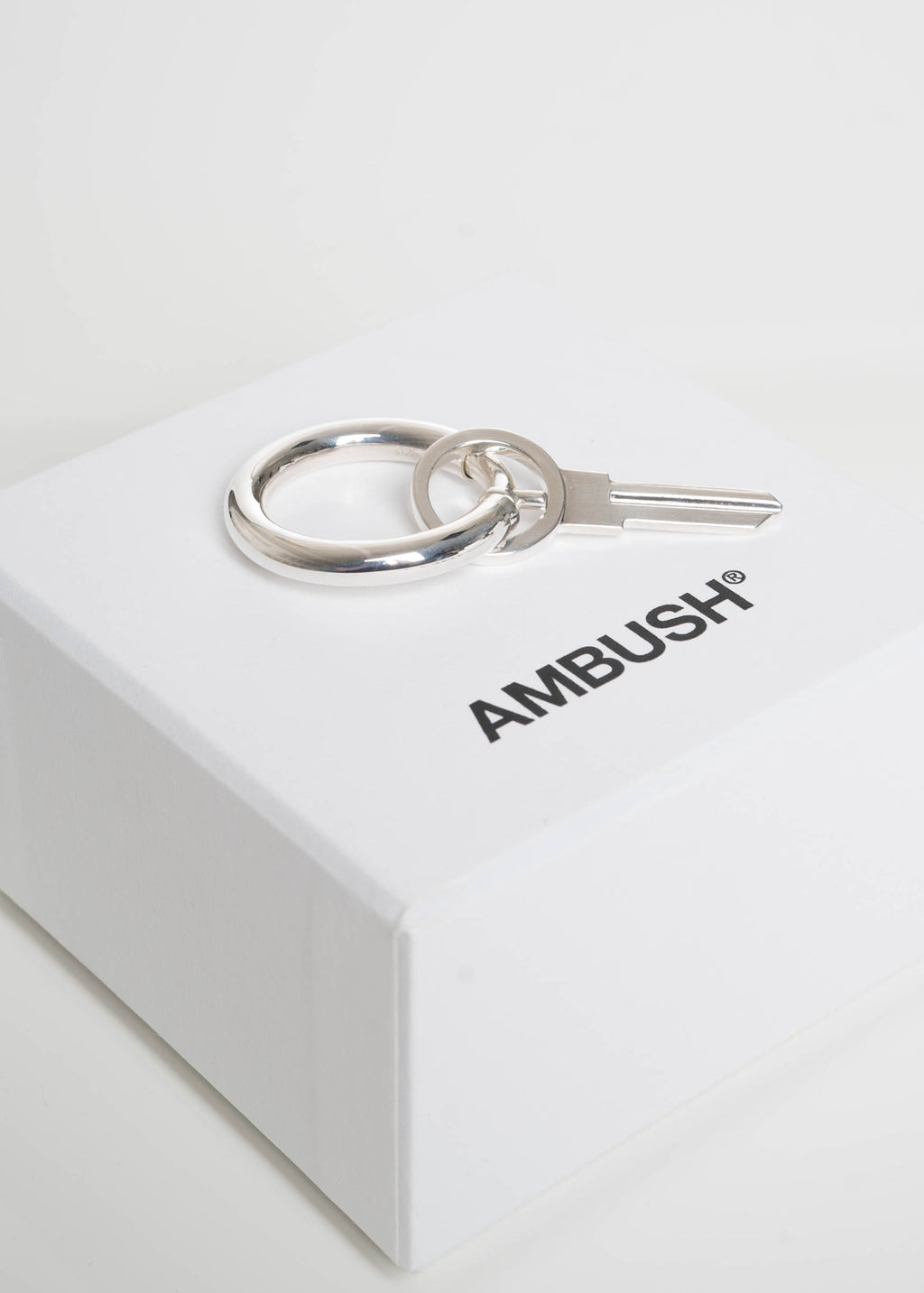 Ambush, Silver Mini Key Earring, 017 Shop