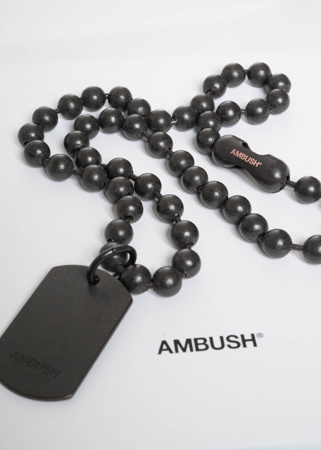 Black Classic Chain 4 Necklace (Limited Edition)