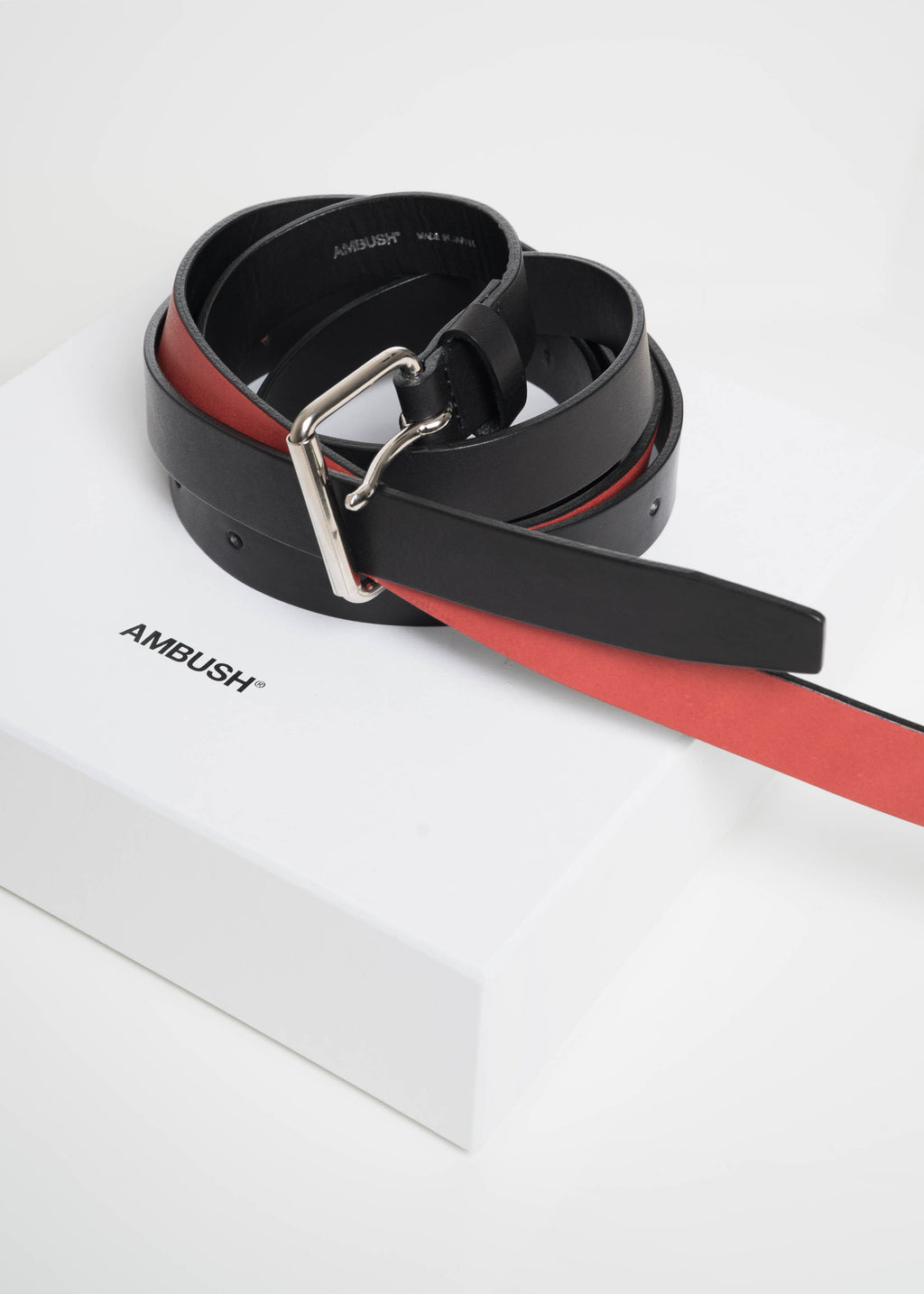 Black & Red Double Belt