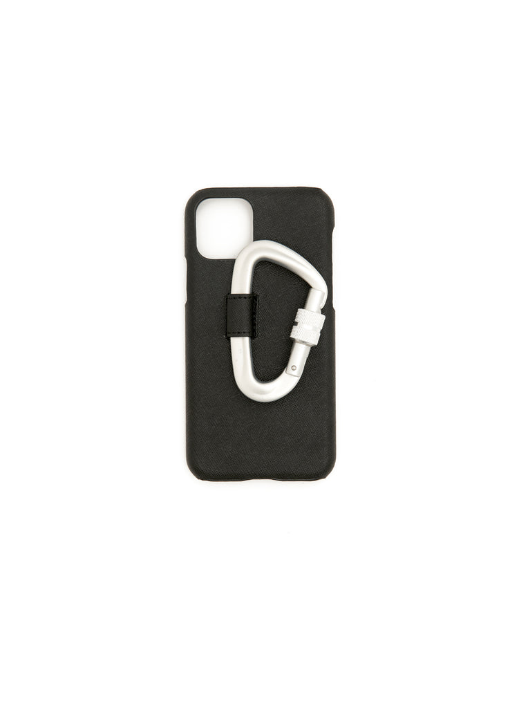 Black Carabiner Iphone 11 Pro Case