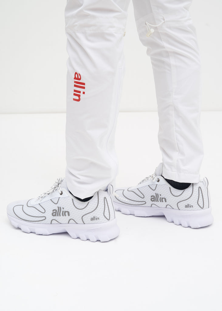 all in, White Reflective Tennis Shoes, 017 Shop