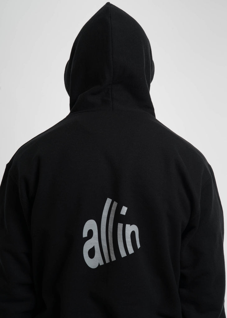 all in, Black Signal Hoodie, 017 Shop