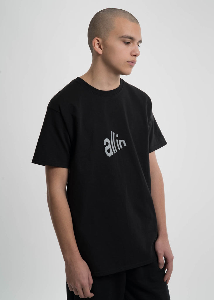 all in, Black Signal T-Shirt, 017 Shop