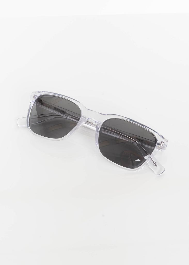 Clear and Black York Sunglasses - Polarized