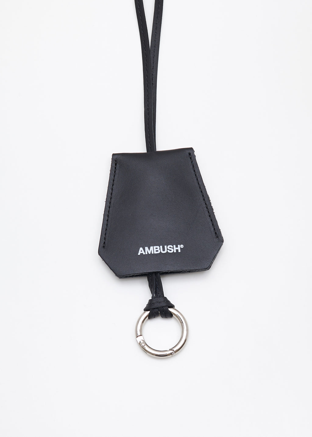 Black Key Case Pendant