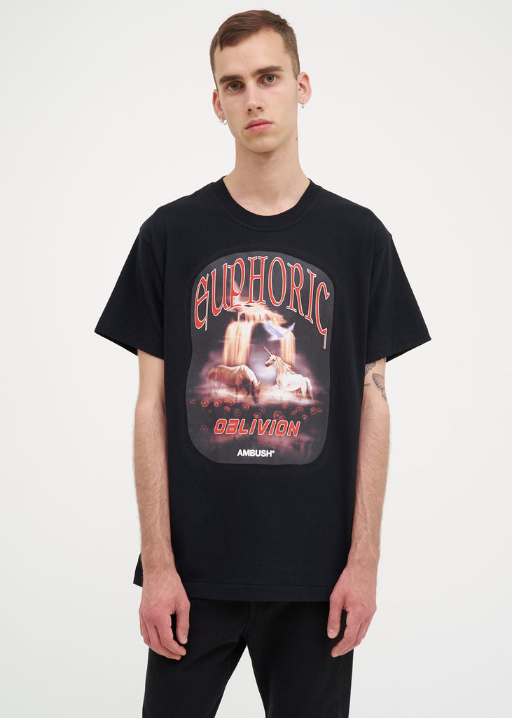 Ambush, Black Unicorn T-Shirt, 017 Shop