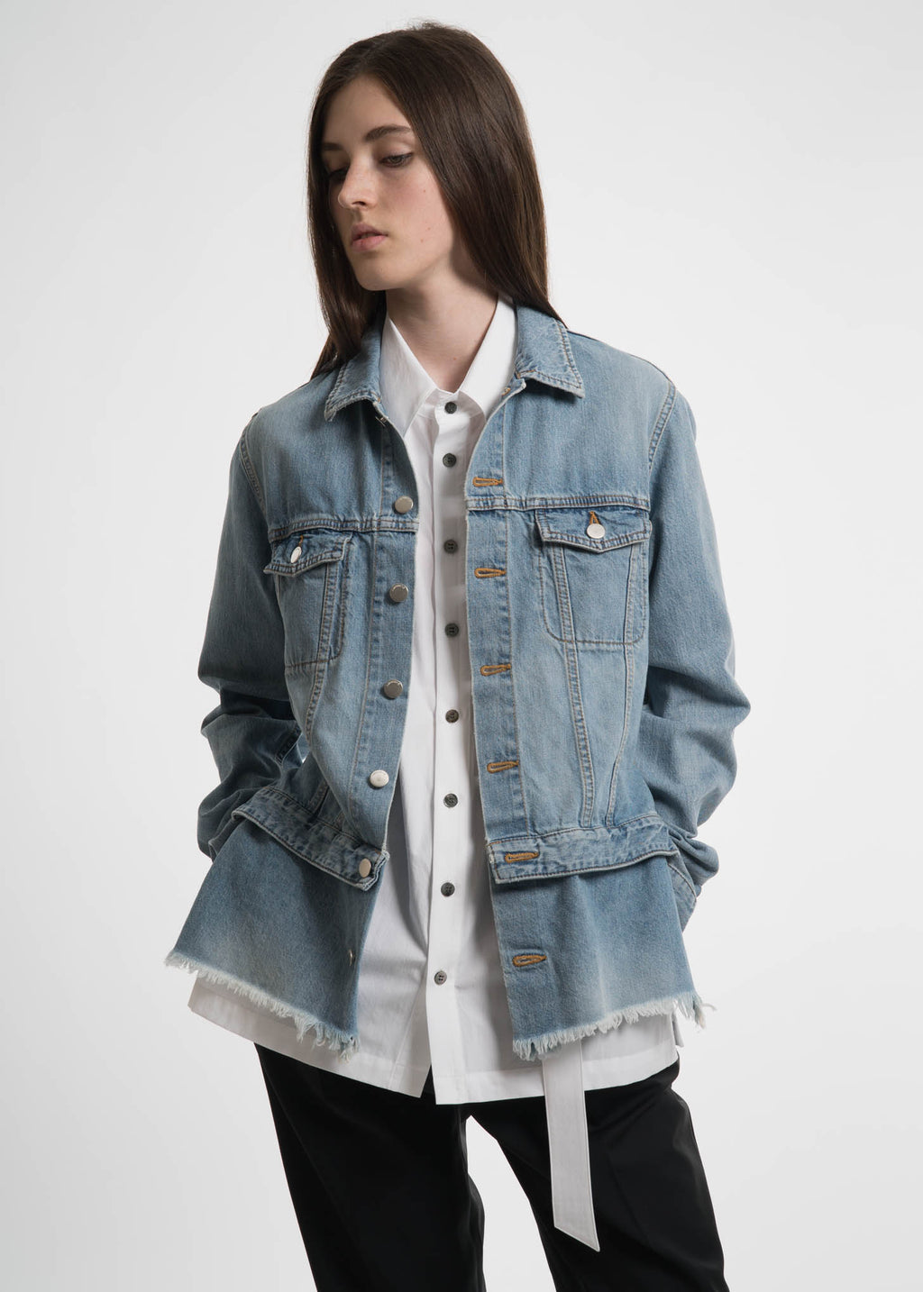 Blue Double Denim Shirt
