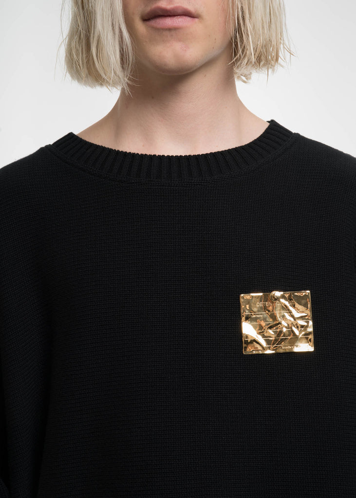 Gold Detention Pin