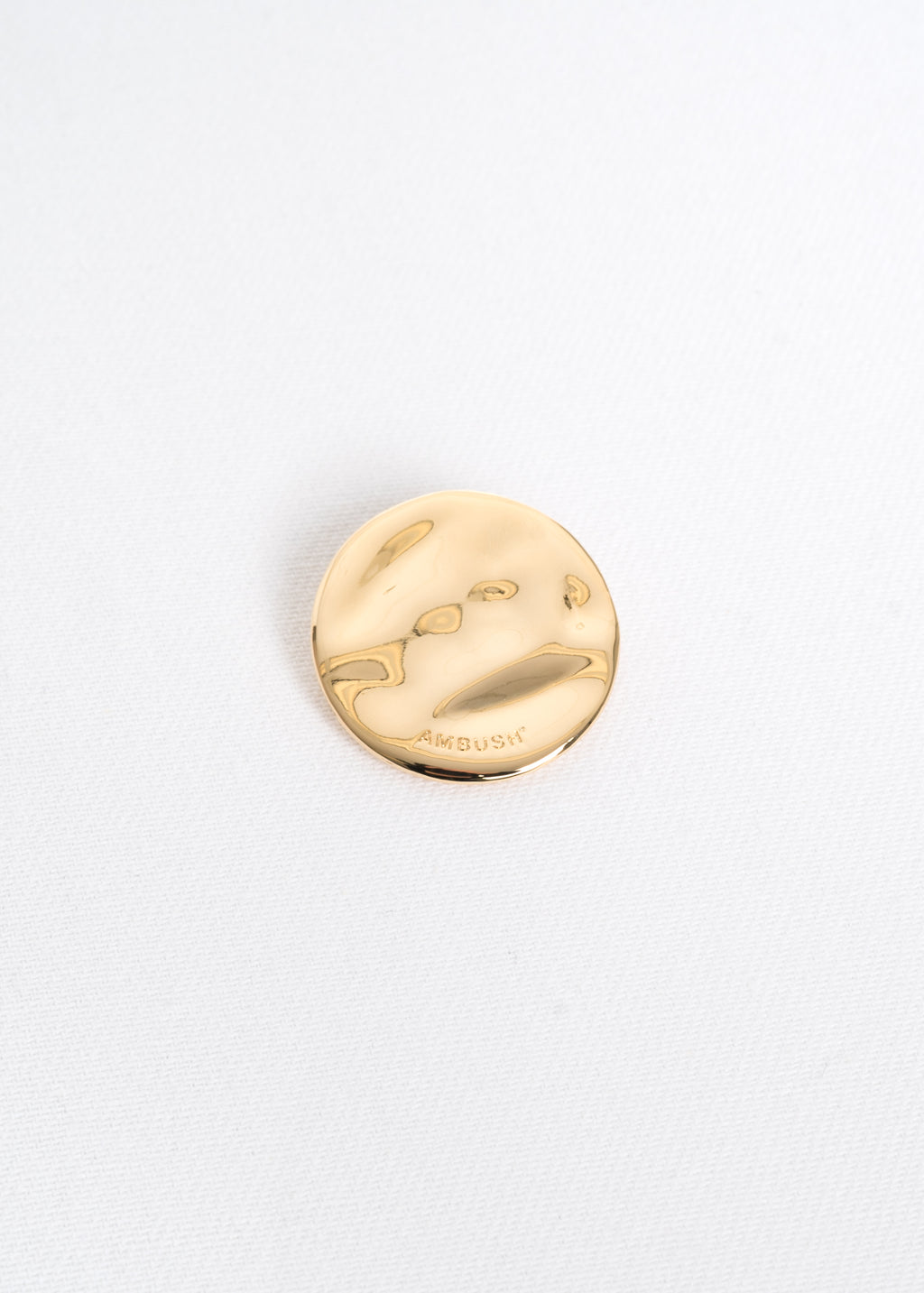 Gold Medium Generic Pin Badge