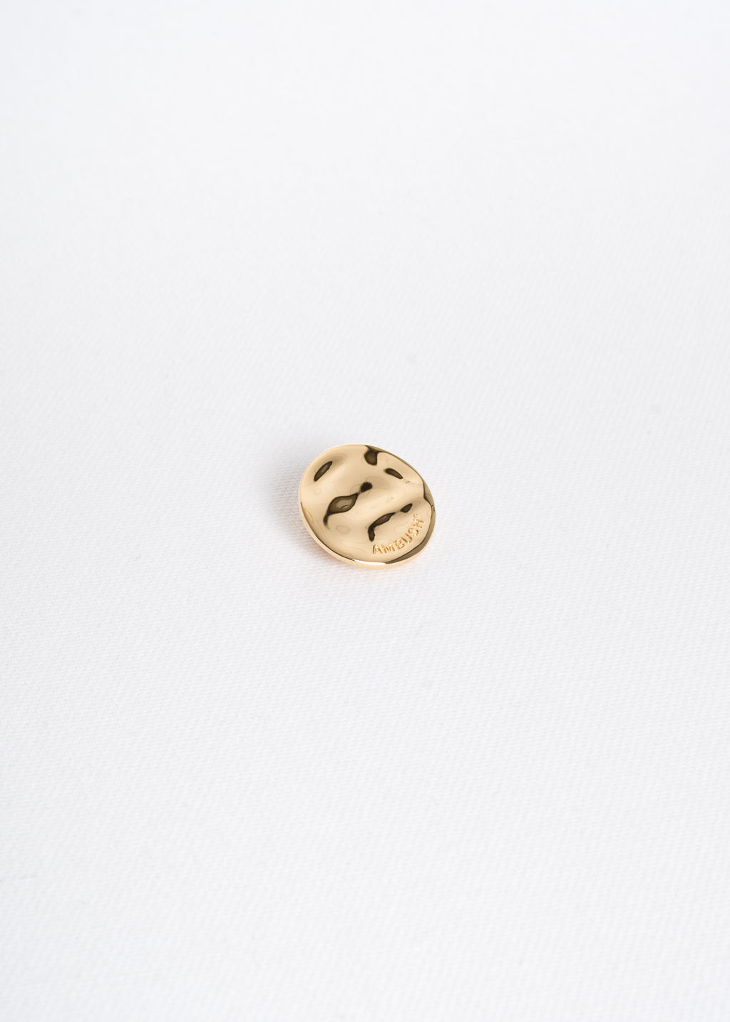 Gold Small Generic Pin Badge