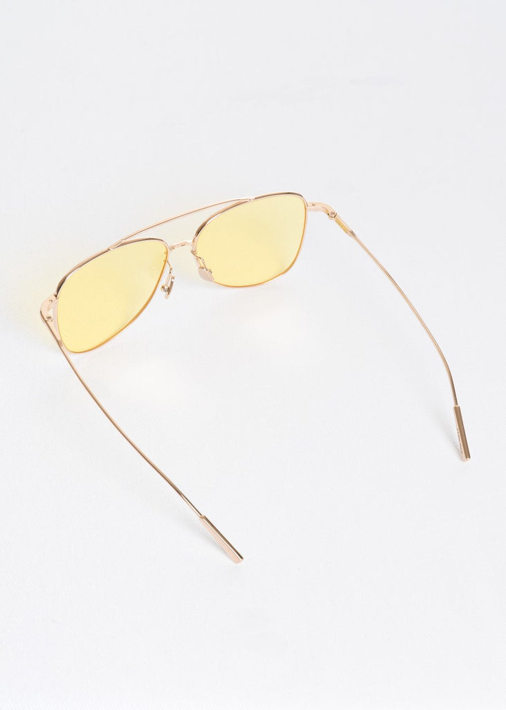 Gold and Yellow SSS Edie Sunglasses