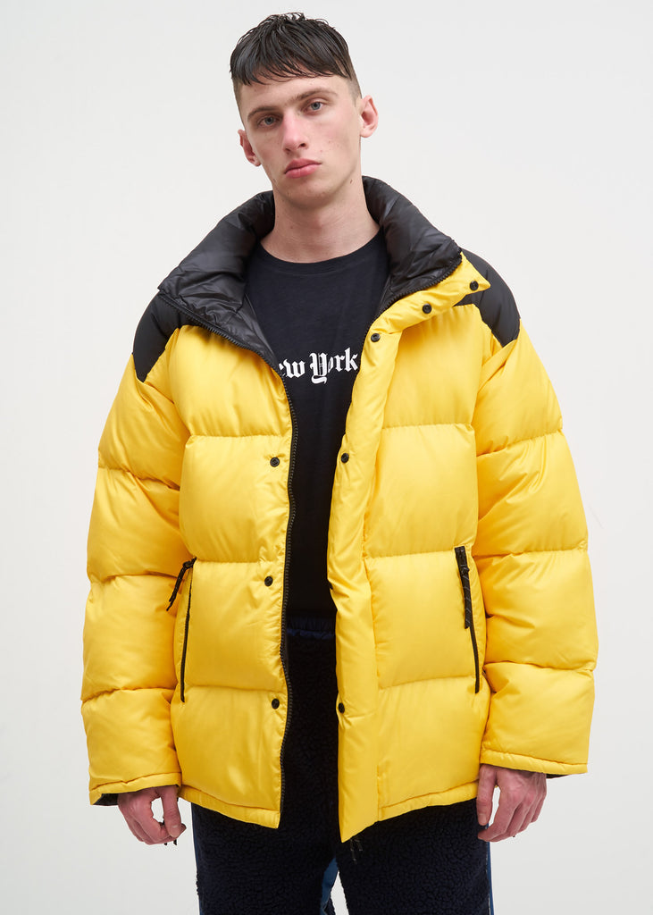 Reversible Yellow Down Jacket