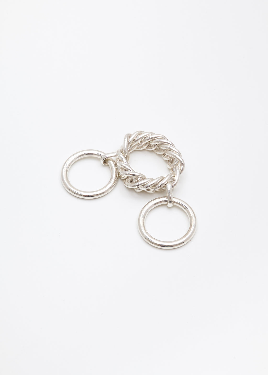 Ambush, Silver Chain Link Ring, 017 Shop