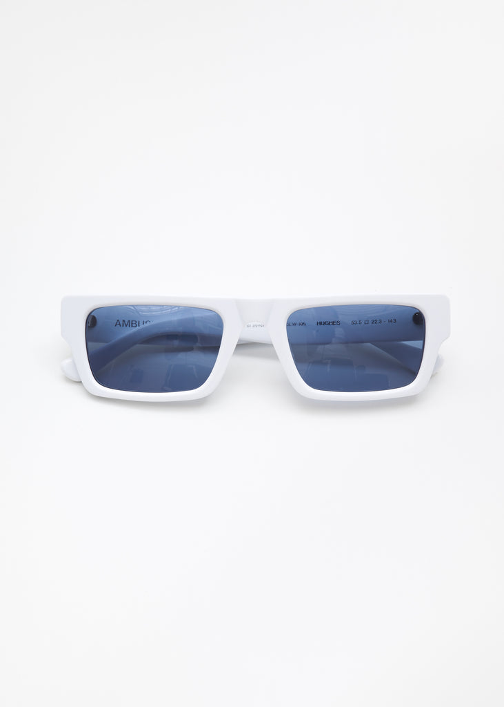 Ambush, White Hughes Sunglasses, 017 Shop