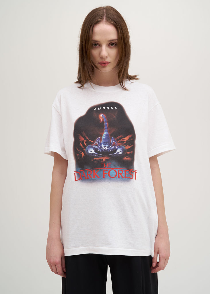 Ambush, White Scorpio T-Shirt, 017 Shop