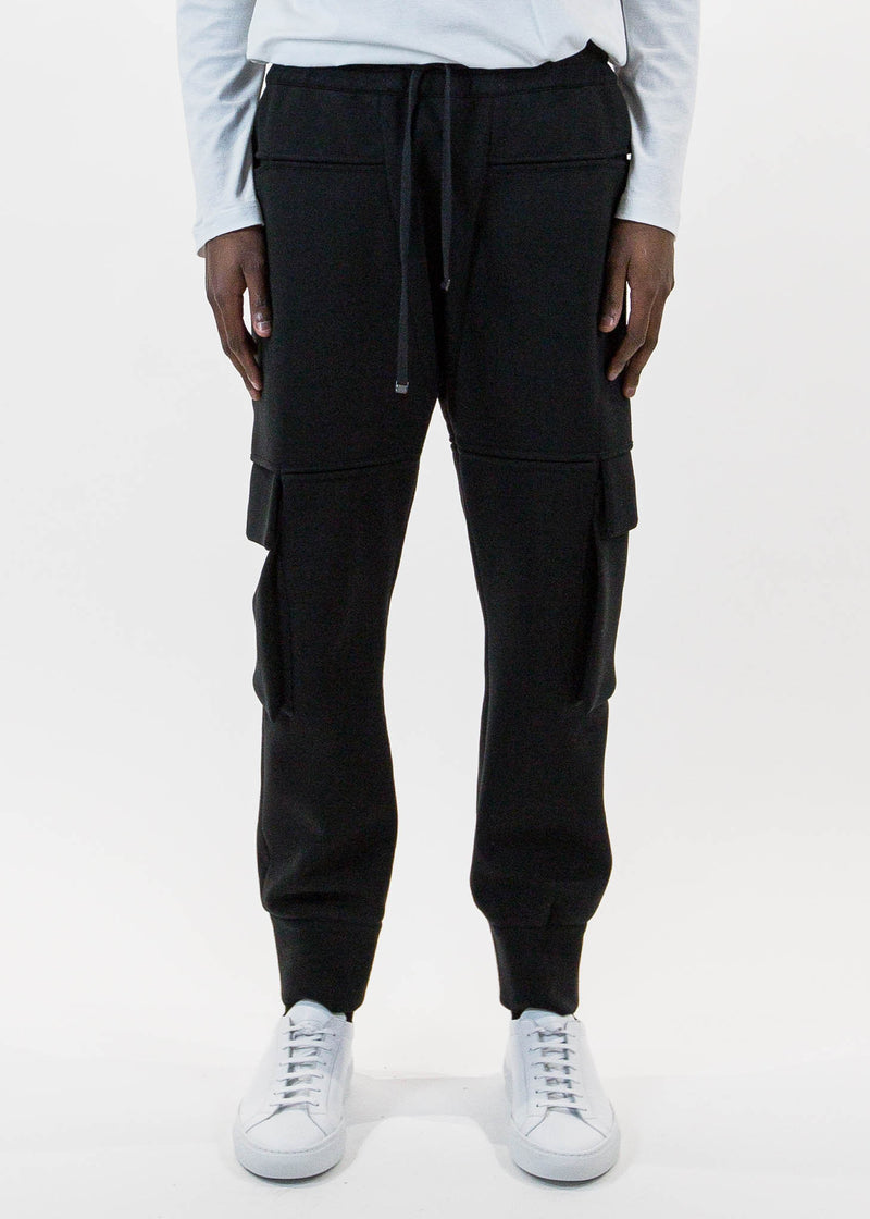 Black Pocket Jogger