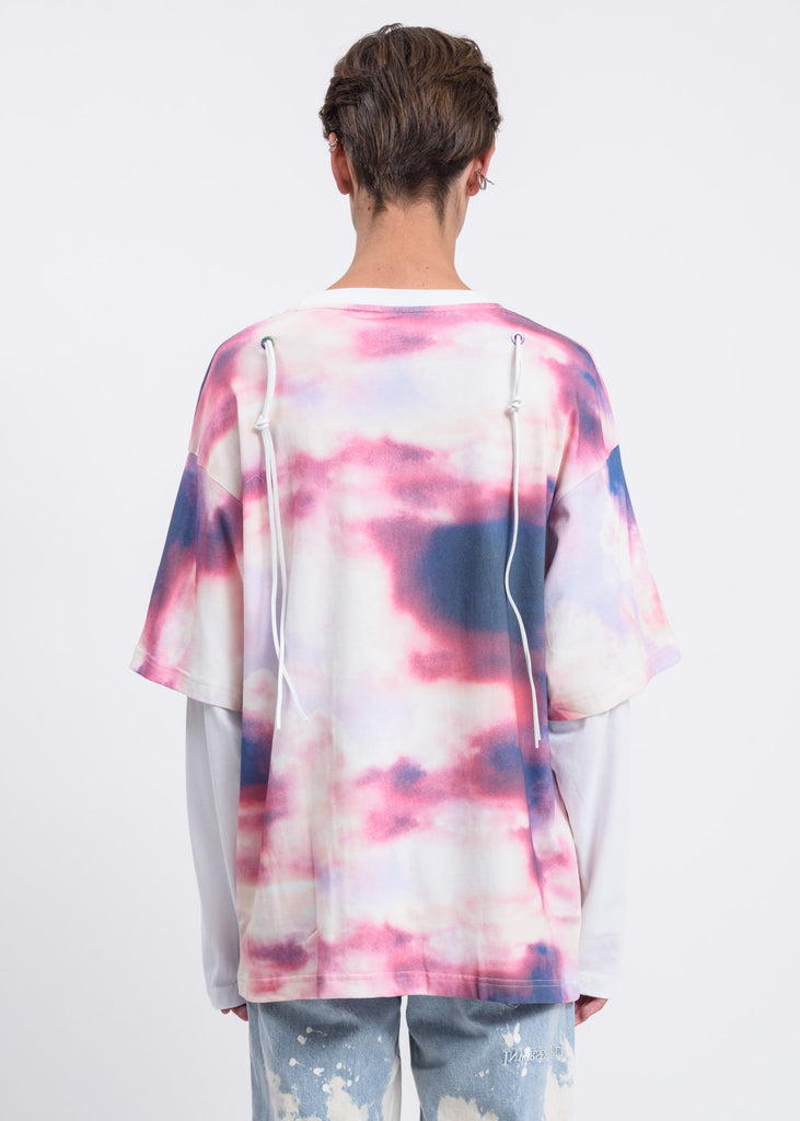 White Clouds Double Layer Long Sleeve