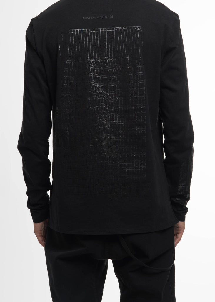 "Black Heavy ""Pony Boy"" Long Sleeve"