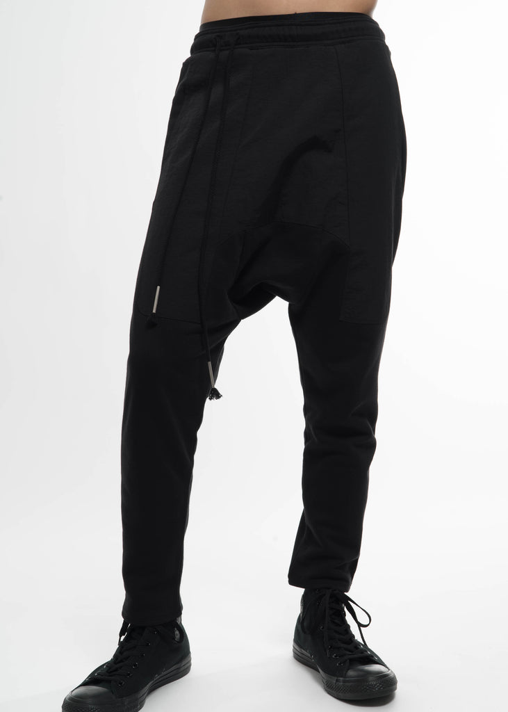 Siki Im, Black Cargo Drop Jog, 017 Shop