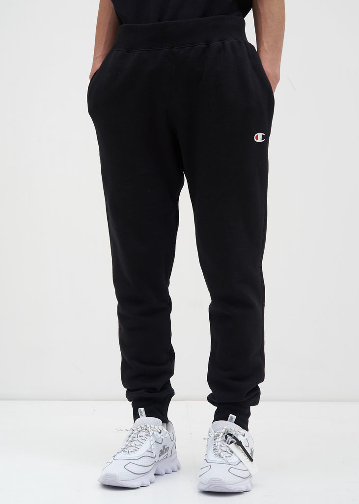 Champion Reverse Weave, Black Jogger Pant, 017 Shop