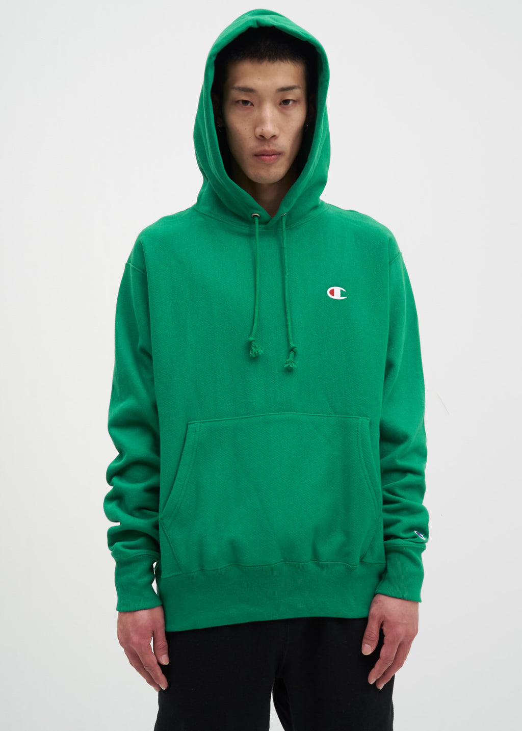 "Kelly Green Left Chest ""C"" Logo Hoodie"