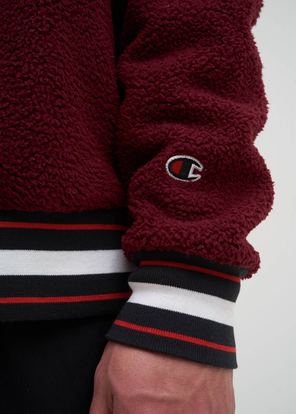 017 Shop | Champion Reverse Weave Mulled Berry Sherpa ...