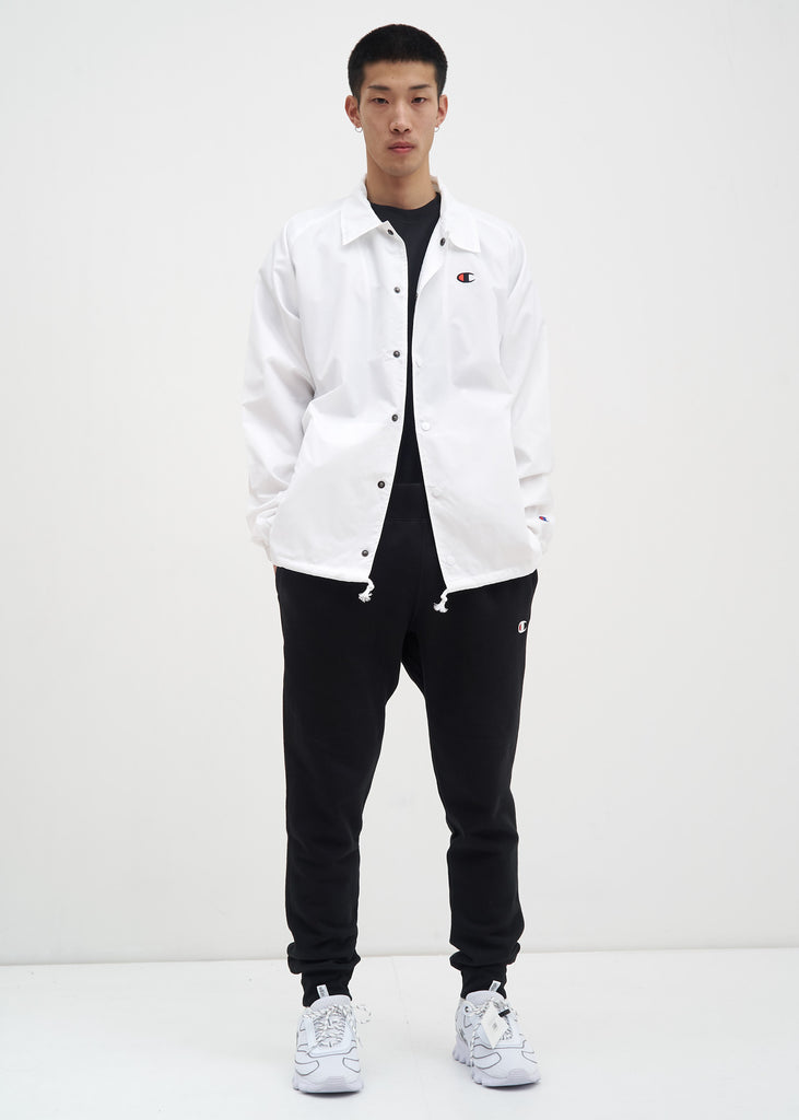 Champion Reverse Weave, White West Breaker Coach Jacket, 017 Shop