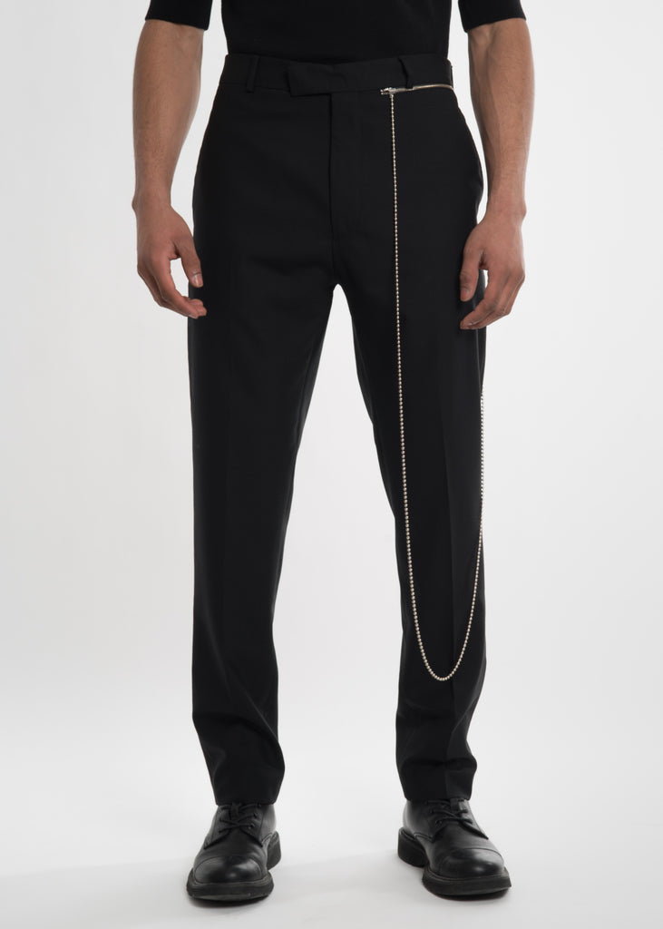 Cmmn Swdn, Black Samson Woven Trousers, 017 Shop