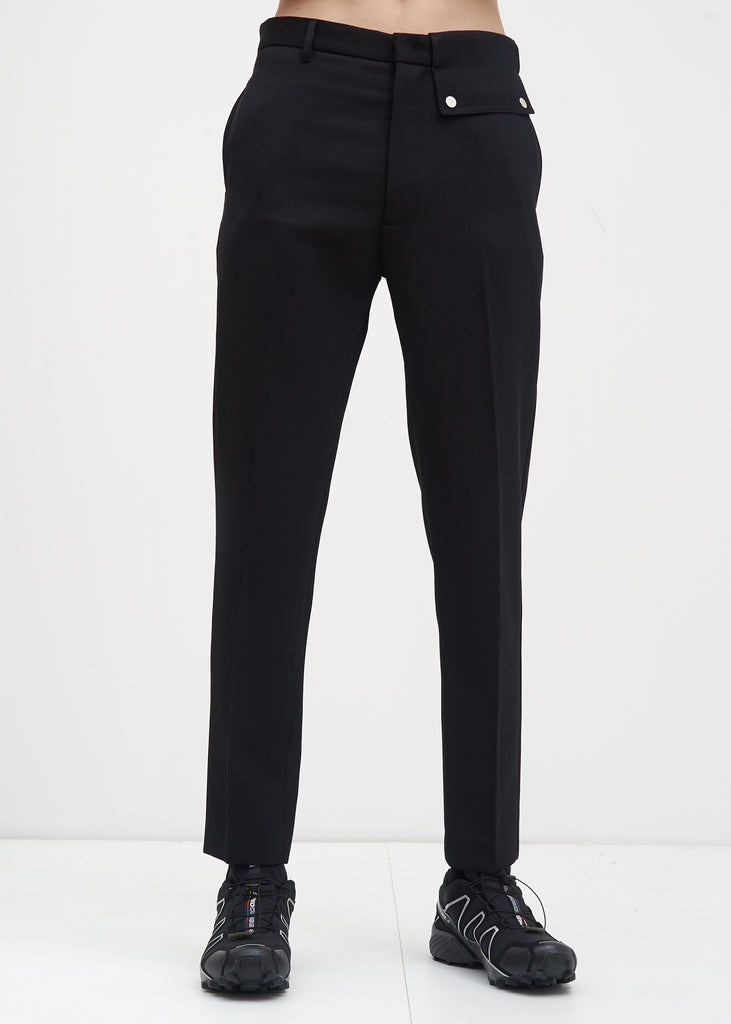 Black Stenson Trousers
