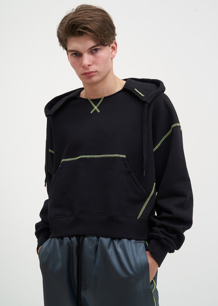 Black and Neon Tyrone Hoodie