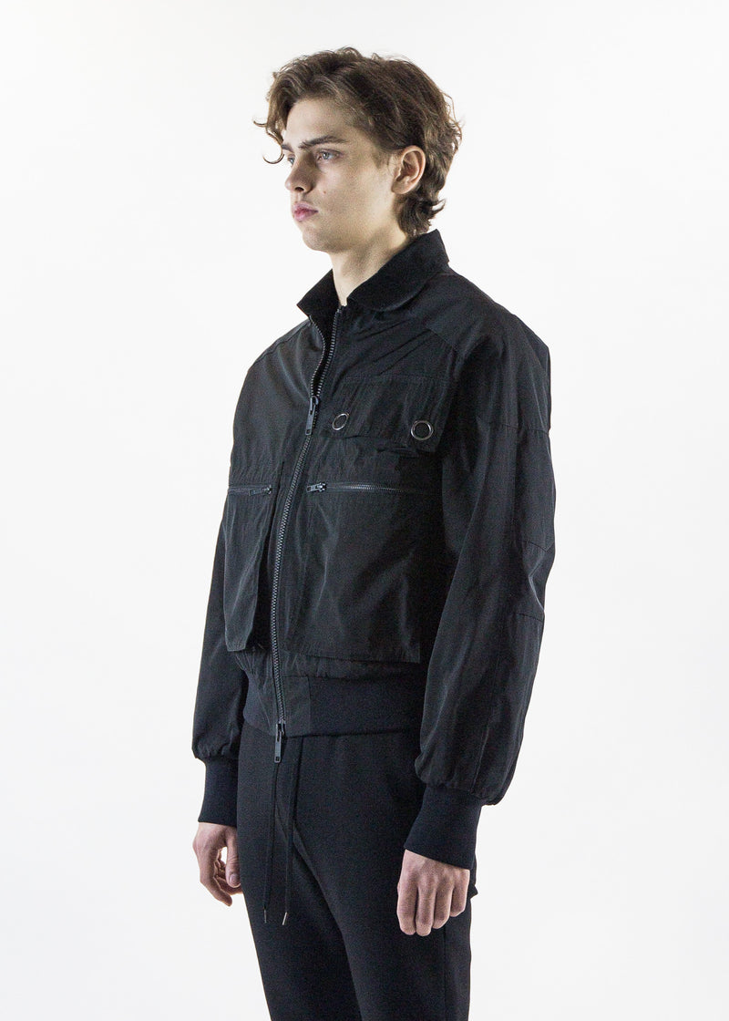 cmmn swdn mens Luke Bomber Jacket with Pockets