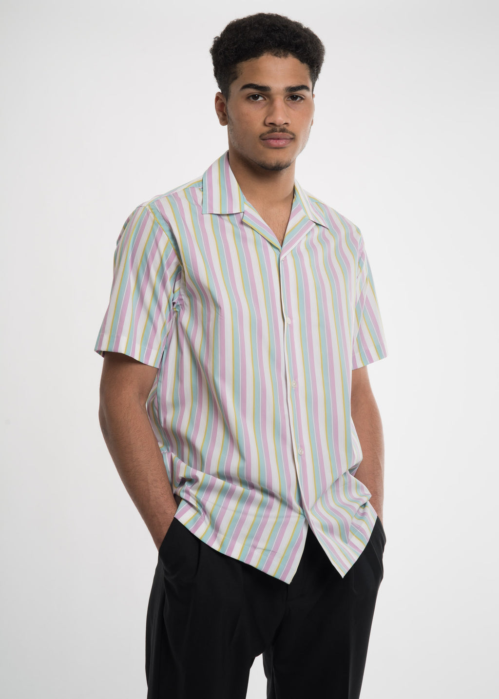 Stripe Dusty Woven Shirt