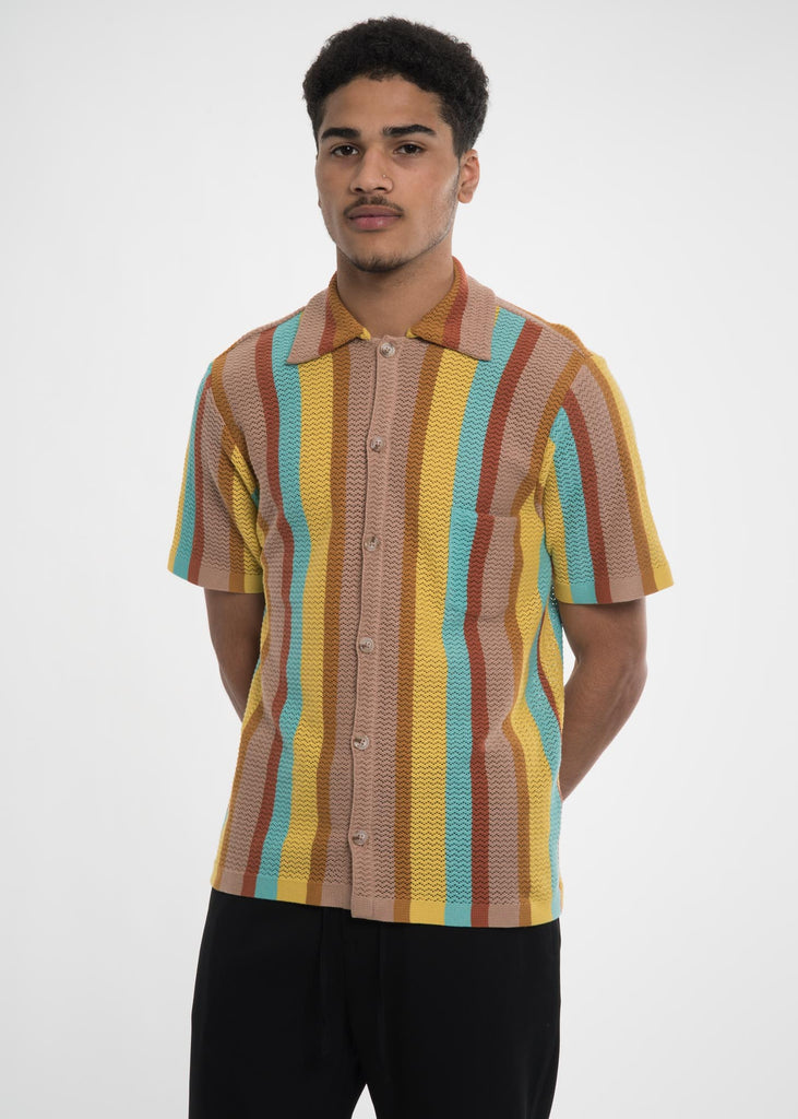 Stripes Wes Knitted Shirt