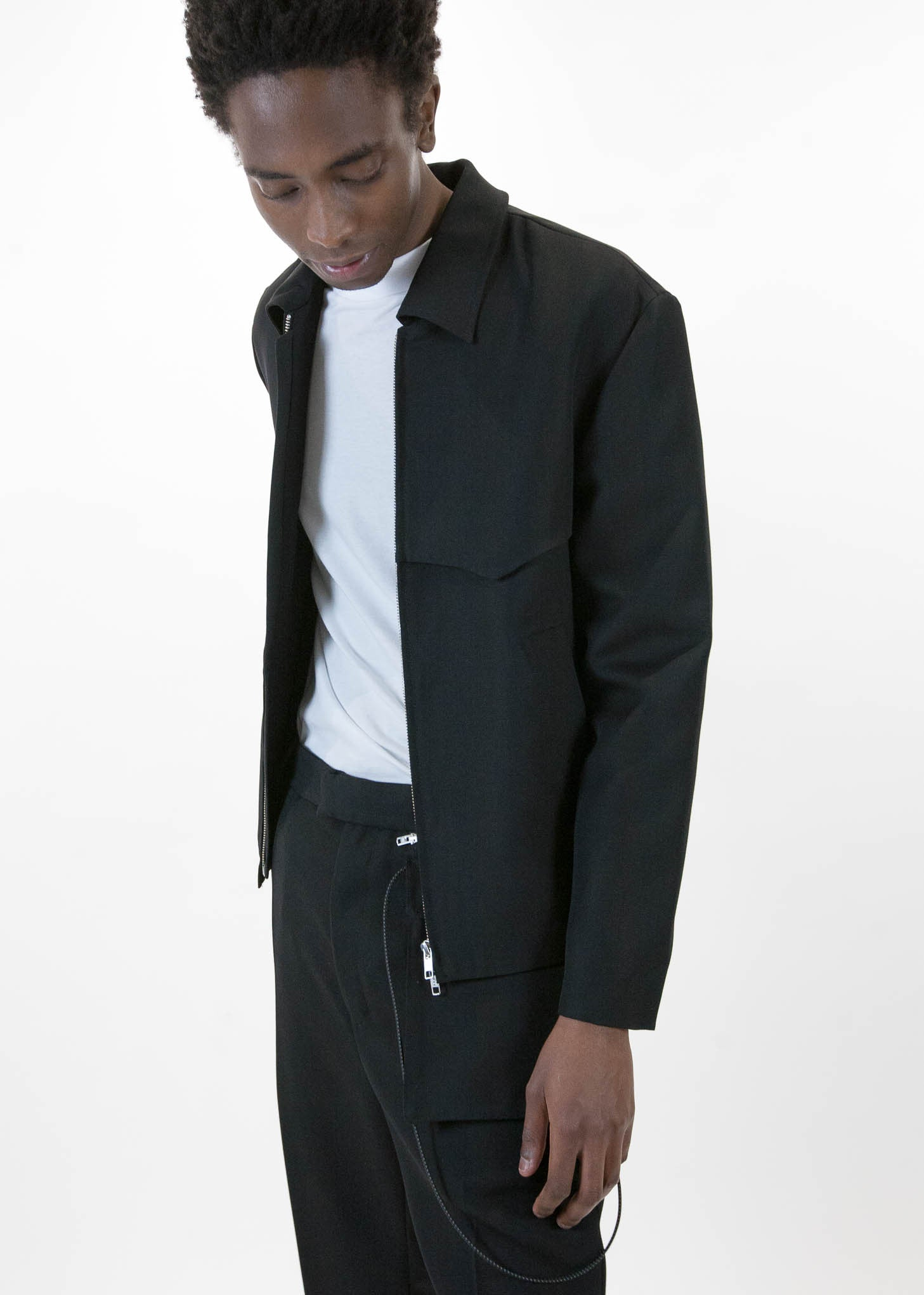 Wessly Casual Zip Jacket