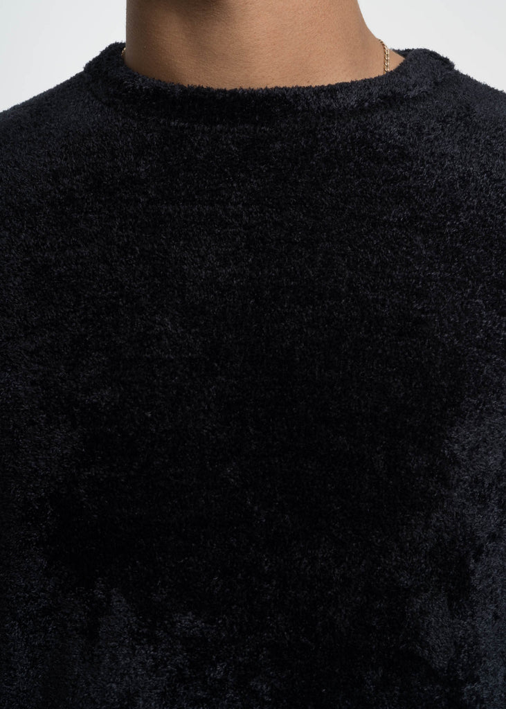 Black Colby Chenille Sweater