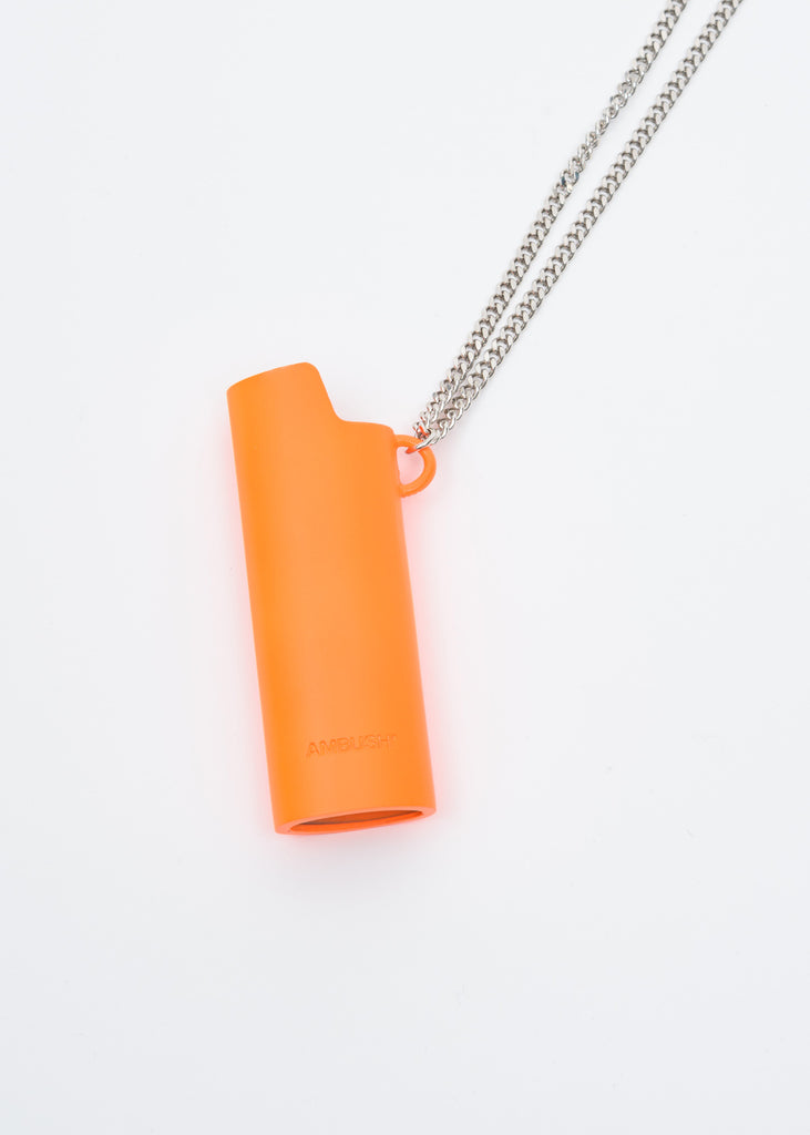 Orange Lighter Case Necklace 2