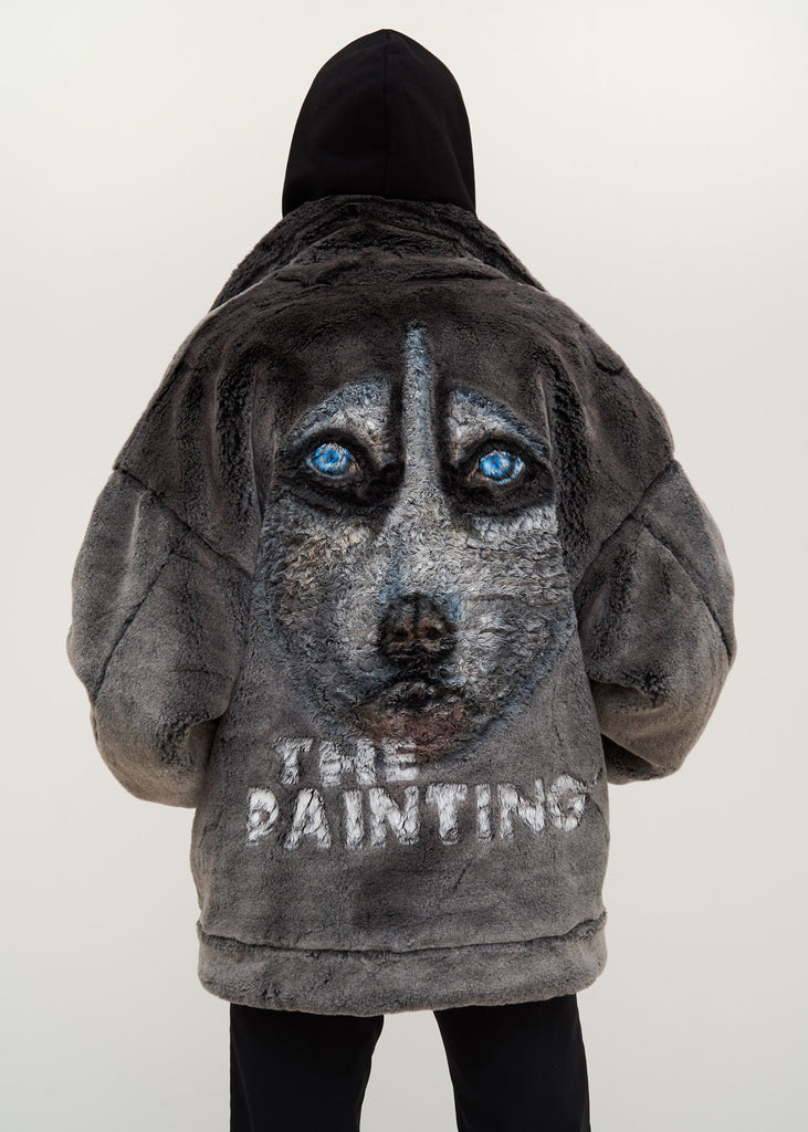 Doublet, Husky Animal Painted Fur Jacket, 017 Shop