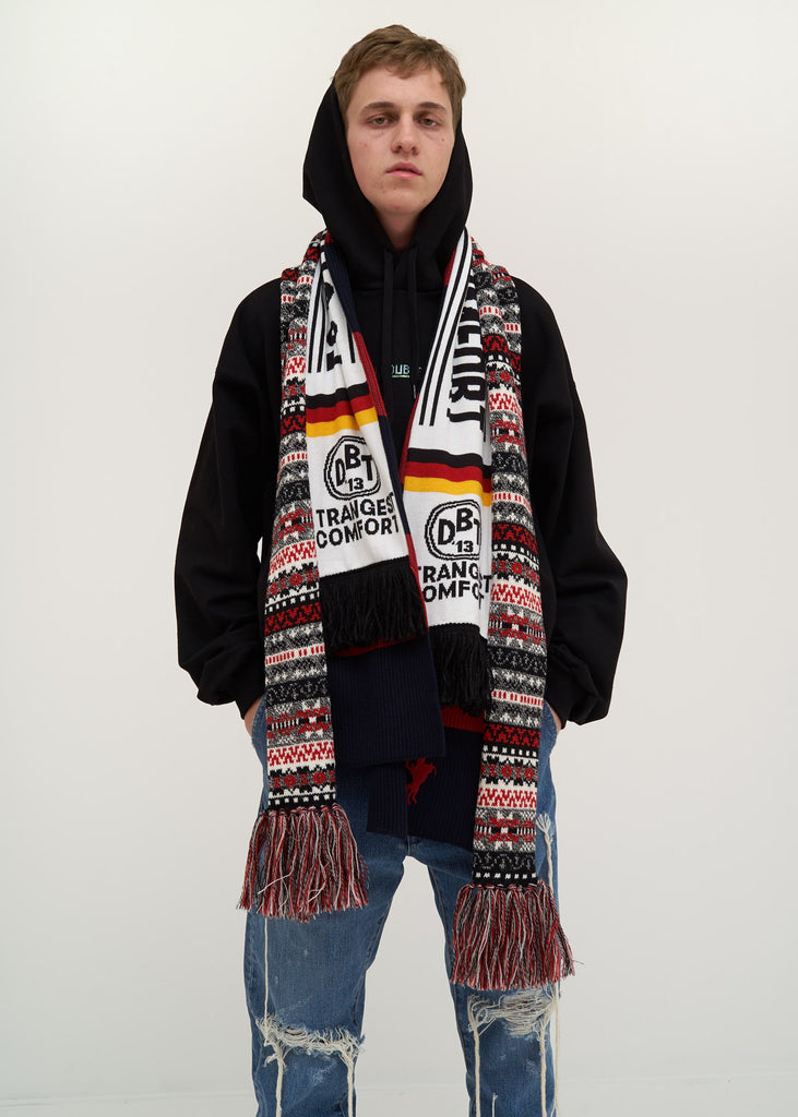 Doublet, Red 3 Layered Scarf, 017 Shop
