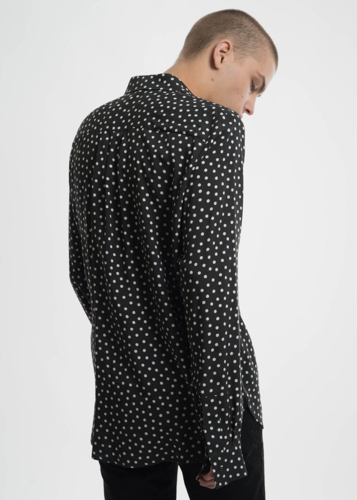 Black Polka Dot Cults Shirt