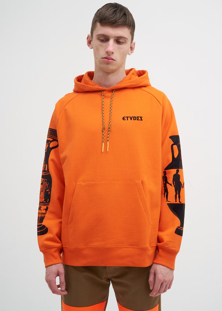 Etudes, Orange Odysseus Hoodie, 017 Shop