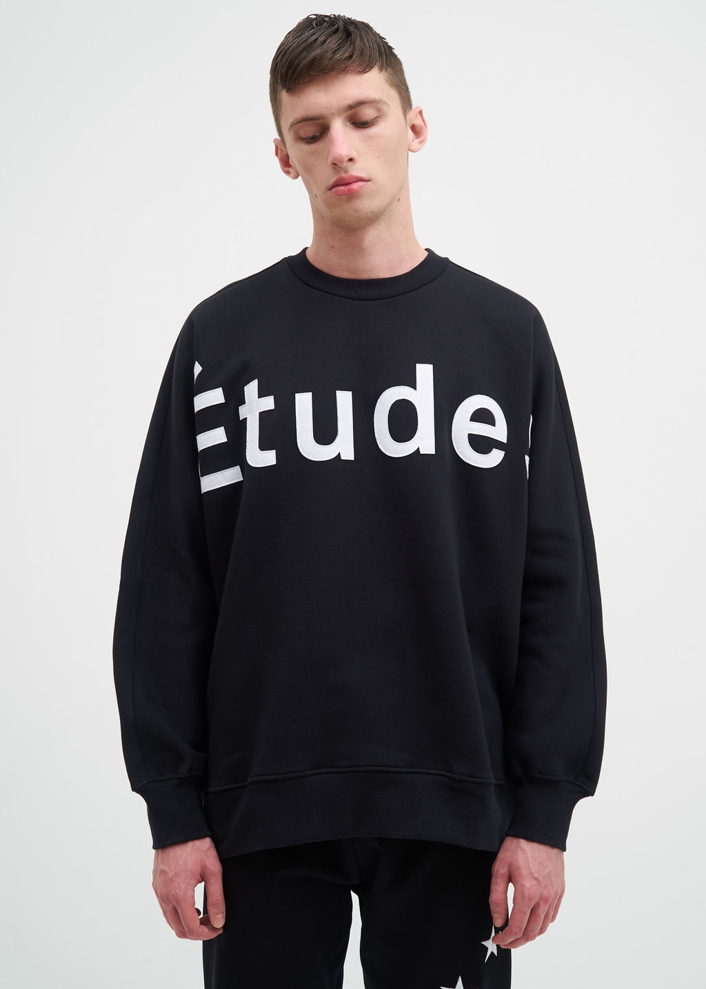 Black Color Etudes Sweatshirt