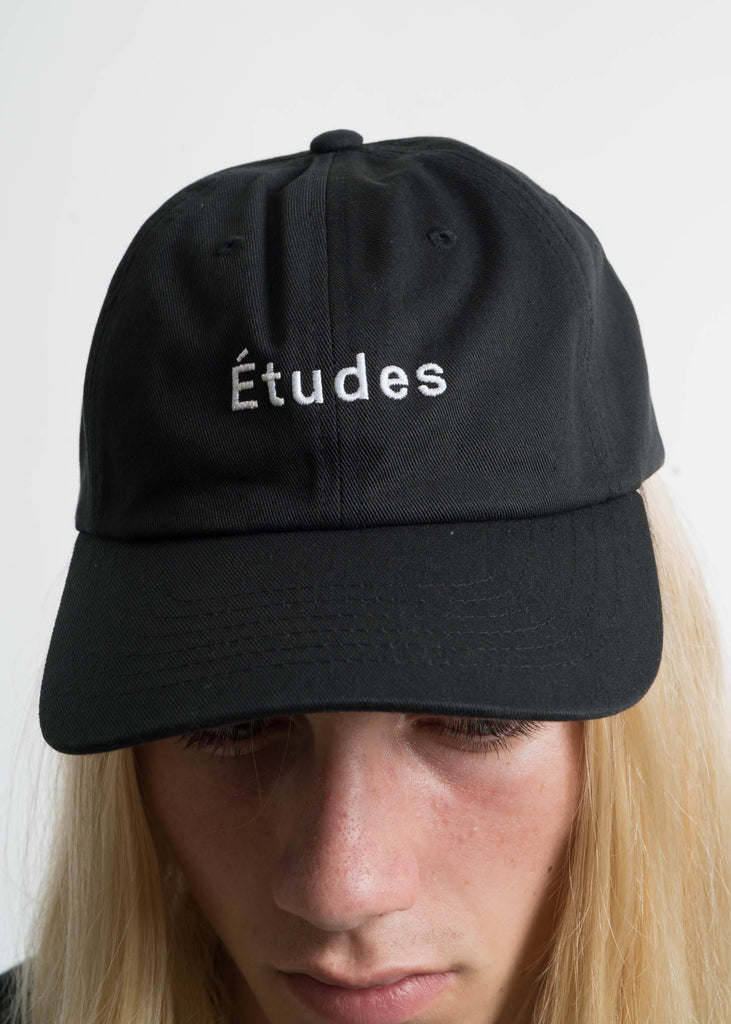"Black ""Etudes"" Still Cap"