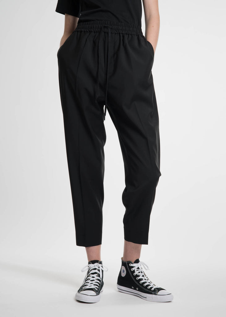 Etudes, Black Jalousie Trousers, 017 Shop